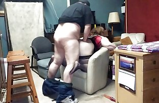 Efter att han blev lespisk por bekant med en kyckling från organisationen, tryck ner henne till huset